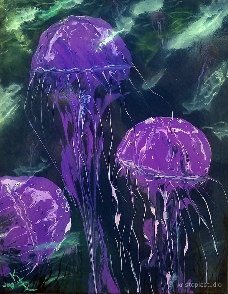 Jellyfish Purple