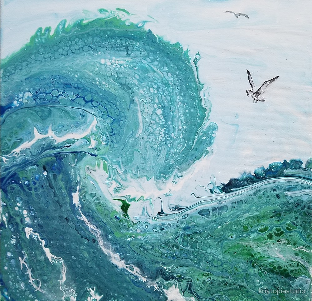 Surf's Up with Gulls